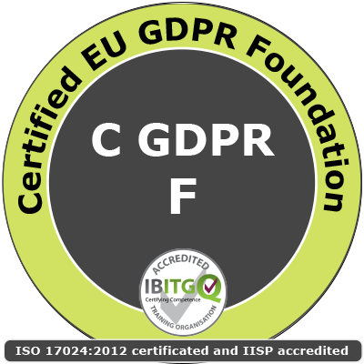 Certified EU General Data Protection Regulation (GDPR) Foundation