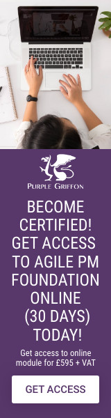 Agile Project Management Foundation Online Training Course - Learn From Home With Purple Griffon