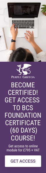 BCS Business Analysis Foundation Online Training Course - Learn From Home With Purple Griffon