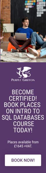 Introduction To SQL Databases Training Courses London, United Kingdom - Purple Griffon