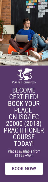 ISO/IEC 20000 (2018) Practitioner Training Course - London, United Kingdom - Purple Griffon