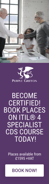 ITIL 4 Specialist Create, Deliver & Support (CDS) Training Course London, UK - Purple Griffon