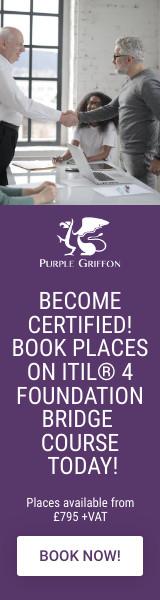 ITIL® 4 Foundation Bridge Training Courses In London, United Kingdom - Purple Griffon