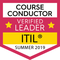 Course Conductor Verified ITIL Leader Purple Griffon Summer 2019