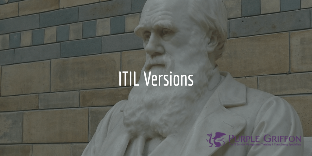 ITIL Versions