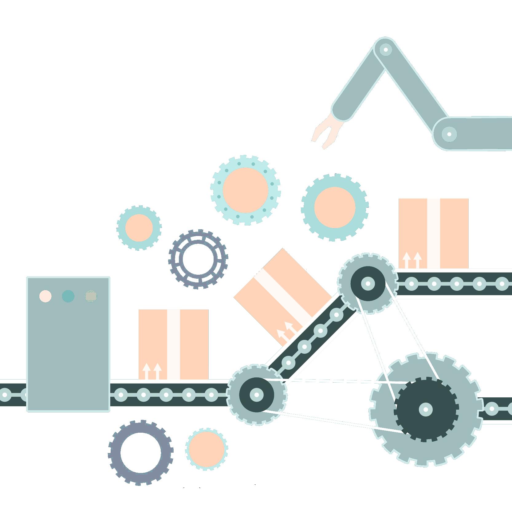 Production Line output