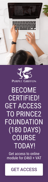 PRINCE2 Foundation Online Training Course - Learn From Home With Purple Griffon