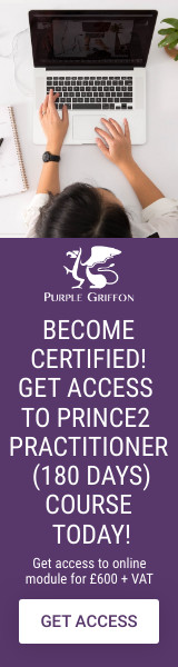 PRINCE2 Practitioner Online Training Course - Learn From Home With Purple Griffon