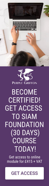 SIAM Foundation Online Training Course - Learn From Home With Purple Griffon