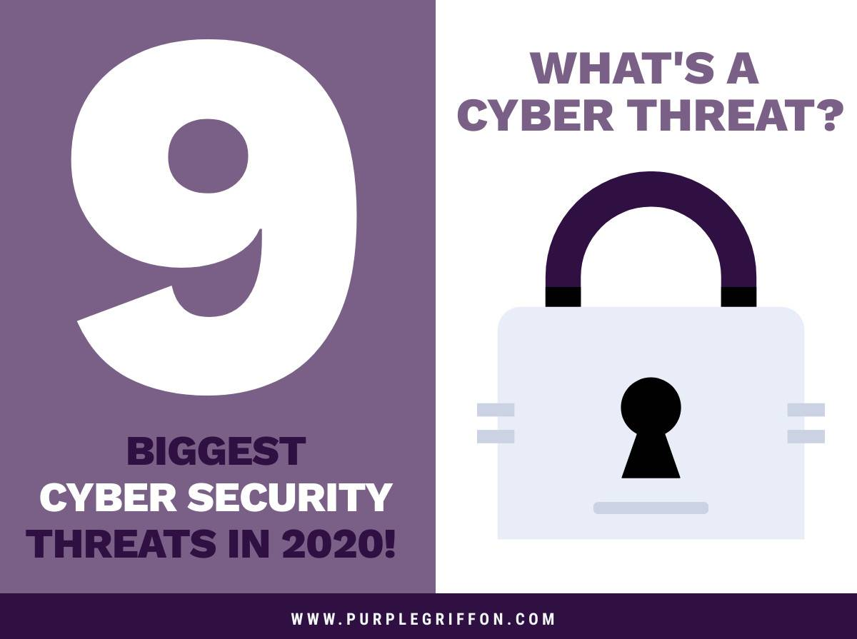 What's A Cyber Threat? 9 Biggest Cyber Security Threats In 2020!